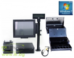 Refurbished Wincor Nixdorf Point Of Sale System v.1.0 с инсталиран Windows 7 Professional SP1