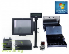 Refurbished Wincor Nixdorf Point Of Sale System v.1.2 с инсталиран Windows 7 Professional SP1