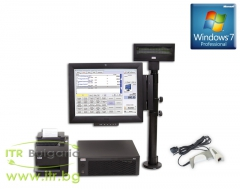 Refurbished Wincor Nixdorf Point Of Sale System v.1.5 с инсталиран Windows 7 Professional SP1