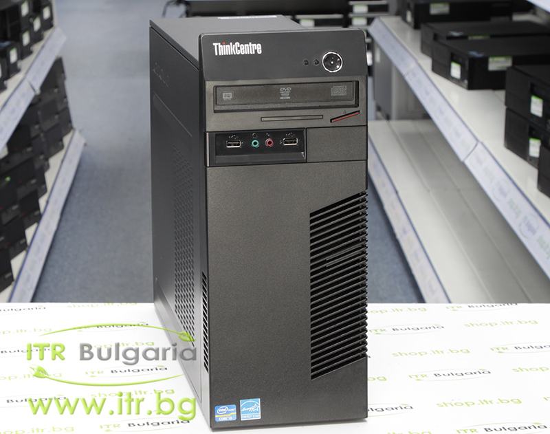 Lenovo ThinkCentre M72e А клас Intel Core i3 3220 3300Mhz 3MB 4096MB DDR3 320 GB SATA DVD-RW MiniTower