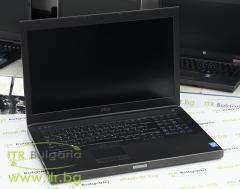 DELL Precision M6800 А клас Intel Core i7 4610M 3000MHz 4MB 16GB So Dimm DDR3L 500 GB 2.5 Inch SSHD Slim DVD RW 17.3 1920x1080 Full HD 16:9  Camera HDMI eSATA DisplayPort