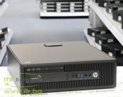 HP EliteDesk 705 G2 SFF А клас AMD PRO A10 8750B 3600MHz 4MB 4096MB DDR3 500 GB SATA Slim DVD Slim Desktop