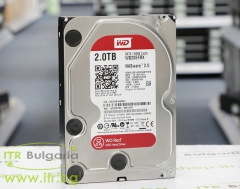Western Digital Red NAS WD20EFRX А клас SATA 3 2 TB 3.5 5400 rpm 64MB cache for PC