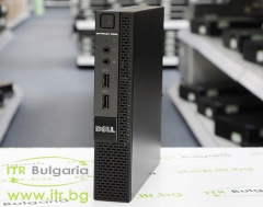 DELL OptiPlex 9020M А клас Intel Core i3 4160T 3100MHz 3MB 4096MB So Dimm DDR3 500 GB SATA 2.5  Desktop Mini