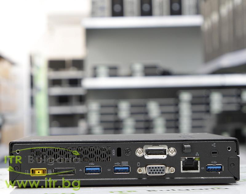 "Lenovo ThinkCentre M93p А клас Intel Pentium G3240T 2700MHz 3MB 4096MB So-Dimm DDR3 500 GB SATA 2.5""  Tiny Desktop"