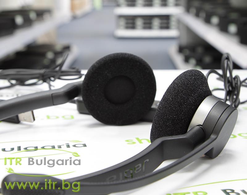 Jabra BIZ 2300 Headset Duo Нов USB P/N 2399-829-109