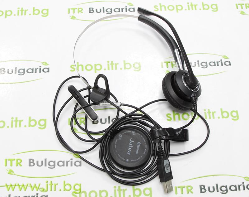 Jabra BIZ 2400 Headset Mono Open Box Brand New USB P/N 2496-823-104