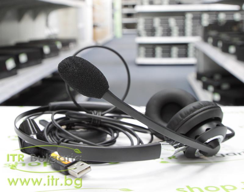Jabra BIZ 2400 Headset Duo Open Box Brand New USB P/N 2499-823-104