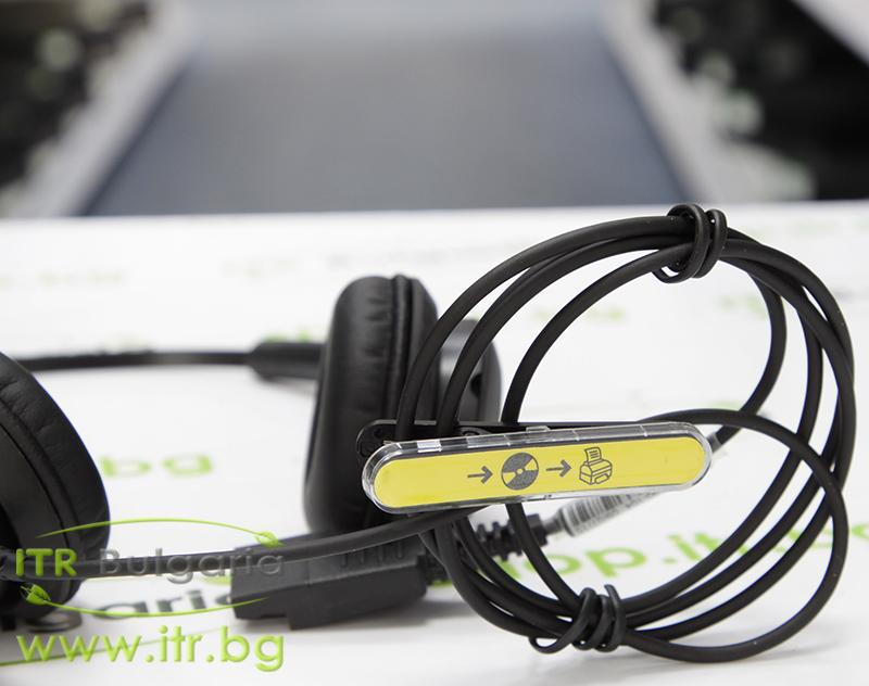 Jabra BIZ 2400 Headset Duo Нов USB P/N 2409-790-104