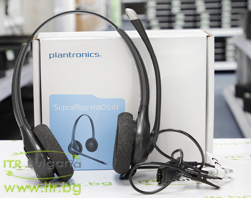Plantronics SupraPlus HW261N Open Box Brand New P/N: 64336-31