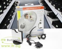Телефонни централи и апарати-Jabra-GN-9120-DG-Wireless-Headset-for-Cordless-Phones-Open-Box-Brand-New