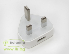 Apple USB Charger A1399  А клас  UK Plug 5V 1A 5W No Cable