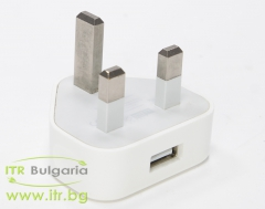 Apple USB Charger А1299 А клас  UK Plug 5V 1A 5W No Cable