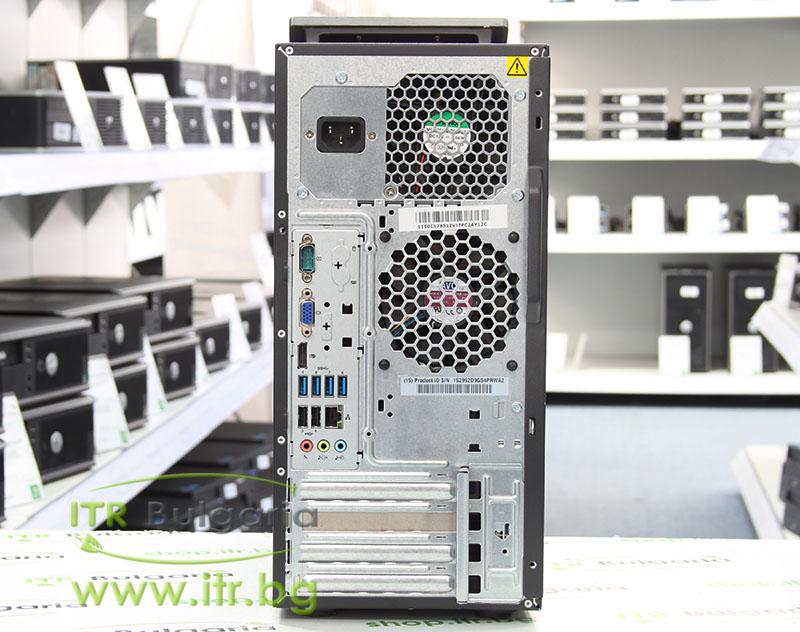 Lenovo ThinkCentre M92p А клас Intel Core i5 3470 3200Mhz 6MB 4096MB DDR3 500 GB SATA DVD-RW MiniTower