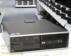 HP Compaq Elite 8100SFF А клас Intel Core i7 860 2800MHz 8MB 4096MB DDR3 500 GB SATA DVD RW Slim Desktop  nVidia Quadro NVS 290 256MB PCI E DMS 59