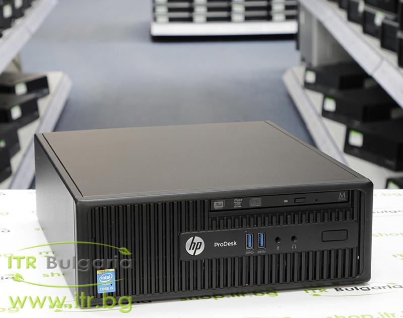 HP ProDesk 400 G2.5 SFF А клас Intel Core i5 4590S 3000MHz 6MB 4096MB DDR3 128 GB 2.5 Inch SSD Slim DVD-RW Slim Desktop