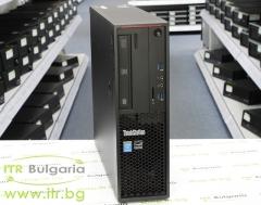 Lenovo ThinkStation P300 А клас Intel Core i5 4590 3300MHz 6MB 8192MB DDR3 1 бр. 128 GB 2.5 Inch SSD SATA DVD RW Slim Desktop  Card Reader