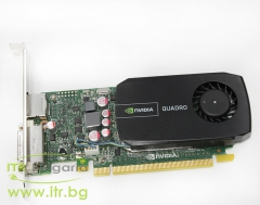 NVIDIA Quadro 600 А клас 1024MB DDR3 PCI E Standard Profile DVI DisplayPort for PC 04J2NX