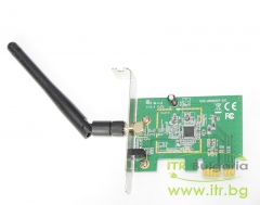 ASUS PCE N10 А клас Wireless 802.11b g n PCIe for PC Low Profile