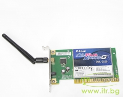 D Link DWL G520 А клас Wireless 802.11a b PCI Low Profile with antenna for PC EWLG520EU