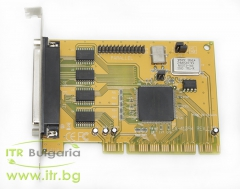 Exsys EX 91094 А клас RS 232 PCI Standard Profile  2xDB25 Female Powered for PC