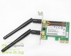 D Link DWA 566 А клас Wireless 802.11b g n PCIe with antenna for PC Low Profile EWA566EU