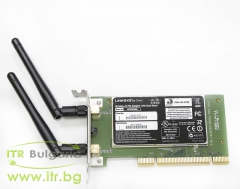 Linksys WMP600N А клас Wireless 802.11b g n PCI Low Profile for PC
