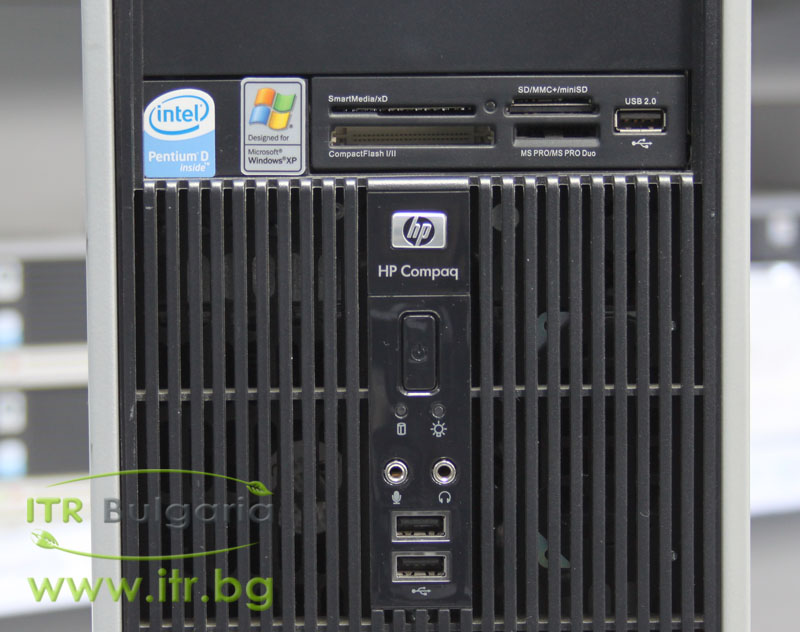 HP Compaq dc5700MT А клас Intel Core 2 Duo E6300 1860Mhz 2MB 2048MB DDR2 80 GB SATA DVD-RW MiniTower