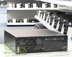 Lenovo ThinkCentre M70e А клас Intel Core 2 Duo E7500 2930Mhz 3MB 4096MB DDR3 250 GB SATA DVD RW Slim Desktop