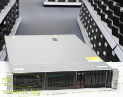 HP ProLiant DL380 Gen9 Rack Mount 2U А клас 2x Intel Xeon 12 Core E5 2670 v3 2300MHz 30MB  256GB DDR4 Registered 2 бр. 300 GB 15000 rpm SAS 2.5  NO OD   LAN 4x 10 100 1000 PSU 2x 500W Smart Array P440ar 2GB Controller with BBWC