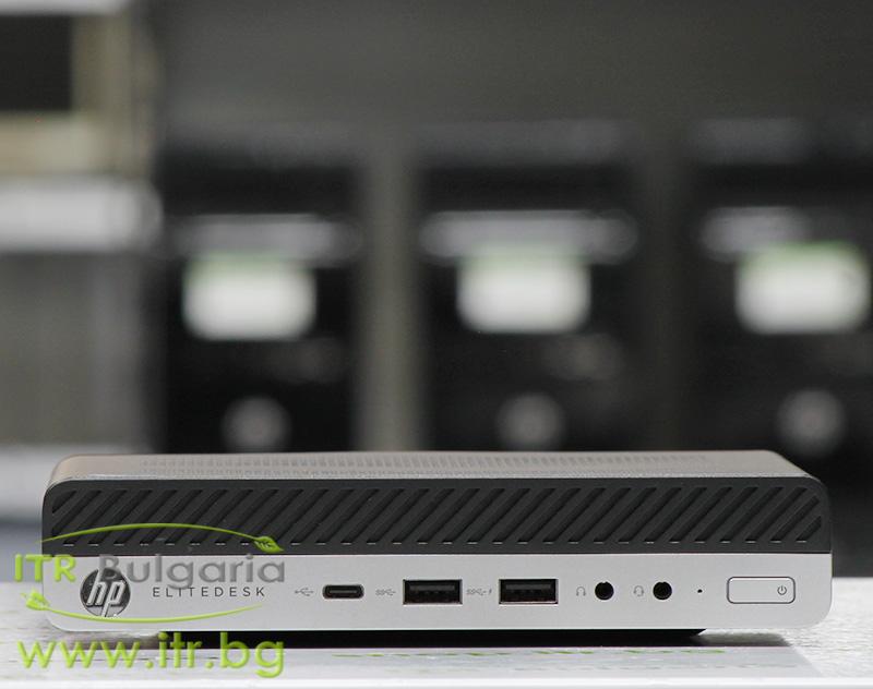 HP EliteDesk 800 G3 DM А клас Intel Core i5 6500T 2500MHz 6MB 8192MB So-Dimm DDR4 256 GB 2.5 Inch SSD  Desktop Mini
