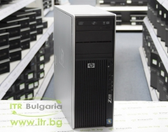 HP Workstation Z400 А клас Intel Xeon Dual Core W3505 2530Mhz 4MB 6144MB DDR3 ECC 1 бр. 500 GB 3.5 SATA DVD RW Tower  nVidia Quadro NVS 300 512MB PCI E DMS 59