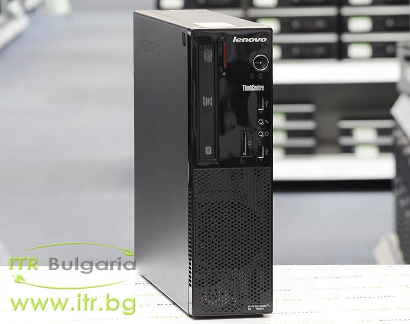 Lenovo ThinkCentre Edge E73 А клас Intel Core i5 4430S 2700MHz 6MB 4096MB DDR3 128 GB 2.5 Inch SSD DVD-RW Slim Desktop  Card Reader
