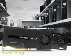 NVIDIA TESLA C2075 А клас 6144MB GDDR5 PCI E Standard Profile DVI for PC 0M44NW