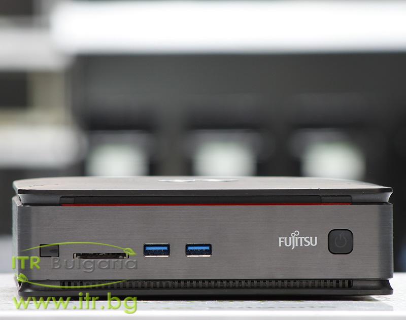 "Fujitsu Esprimo Q520 А клас Intel Core i3 4160T 3100MHz 3MB 4096MB So-Dimm DDR3 500 GB SATA 2.5"" NO OD Desktop Mini  Wi-Fi Card Reader"