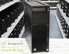 HP Workstation Z640 А клас Intel Xeon 6 Core E5 2620 v3 2400MHz 15MB 32GB DDR4 Registered 1 бр. 256 GB 2.5 Inch SSD SATA 2.5 Slim DVD RW Tower  nVidia Quadro K2000 2048MB PCI E DVI 2xDisplayPort