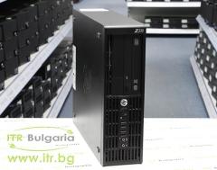 HP Workstation Z220SFF А клас Intel Xeon Quad Core E3 1230 v2 3300MHz 8MB 12GB DDR3 1 бр. 128 GB 2.5 Inch SSD SATA 2.5 DVD RW Slim Desktop  2xNVIDIA Quadro NVS 310 512MB PCI E 2xDisplayPort