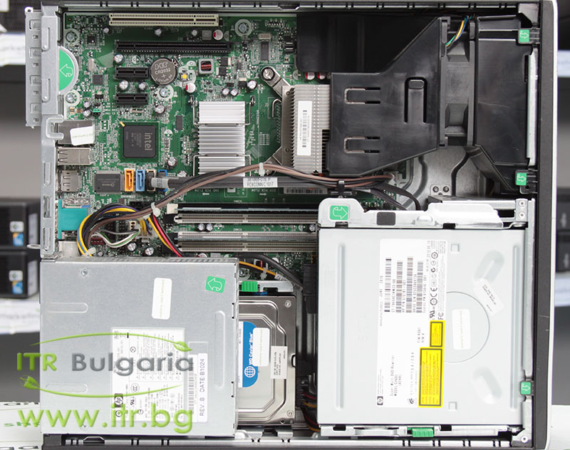 HP Compaq 6000 Pro SFF А клас Intel Core 2 Duo E7500 2930Mhz 3MB 4096MB DDR3 160 GB SATA DVD-RW Slim Desktop