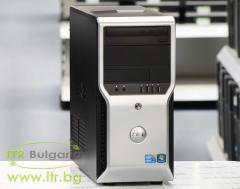 DELL Precision T1500 А клас Intel Core i7 870 2930Mhz 8MB 4096MB DDR3 1 бр. 500 GB 3.5 SATA DVD MiniTower  nVidia Quadro NVS 315 1024MB PCI E DMS 59