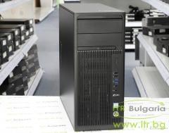 HP Workstation Z240 А клас Intel Core i7 6700 3400MHz 8MB 16GB DDR4 1 бр. 256 GB 60mm M.2 NVMe SSD Slim DVD RW Tower  NVIDIA Quadro K600 1024MB PCI E DVI DisplayPort