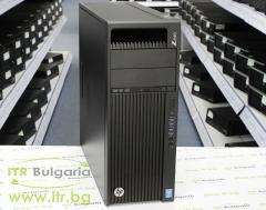 HP Workstation Z440 А клас Intel Xeon Quad Core E5 1620 v3 3500MHz 10MB 16GB DDR4 Registered 1 бр. 256 GB 2.5 Inch SSD SATA 2.5 Slim DVD RW Tower  NVIDIA Quadro NVS 510 2048MB 4x mini DisplayPort