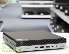 HP EliteDesk 800 G4 DM А клас Intel Core i3 8100T 3100MHz 6MB 8192MB So Dimm DDR4 256 GB M.2 NVMe SSD  Desktop Mini