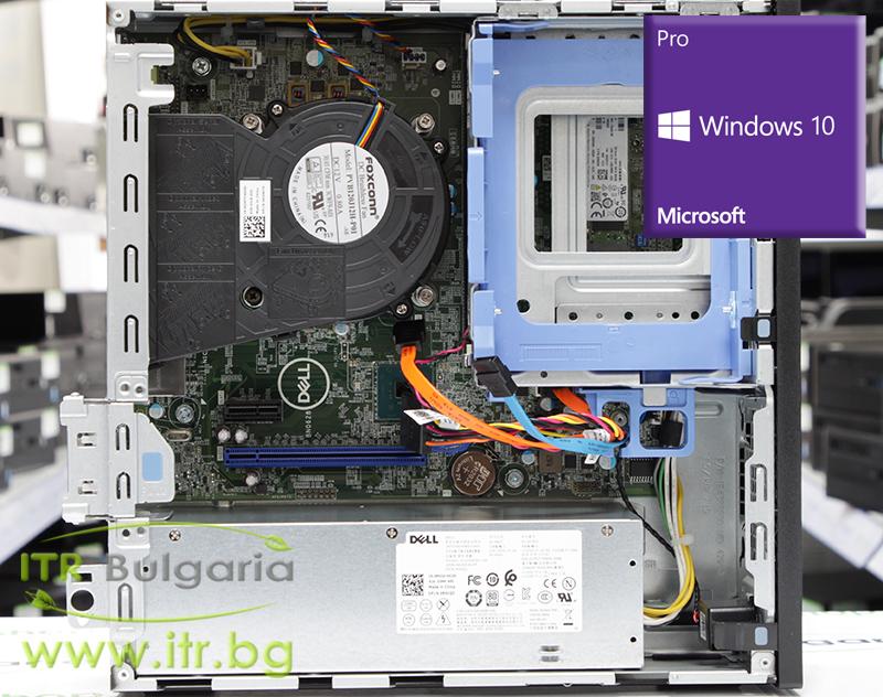 DELL OptiPlex 3060 Open Box Brand New Intel Core i5 8500 3000MHz 9MB 8192MB DDR4 256 GB M.2 SATA SSD NO OD Slim Desktop с инсталиран Windows 10 Pro