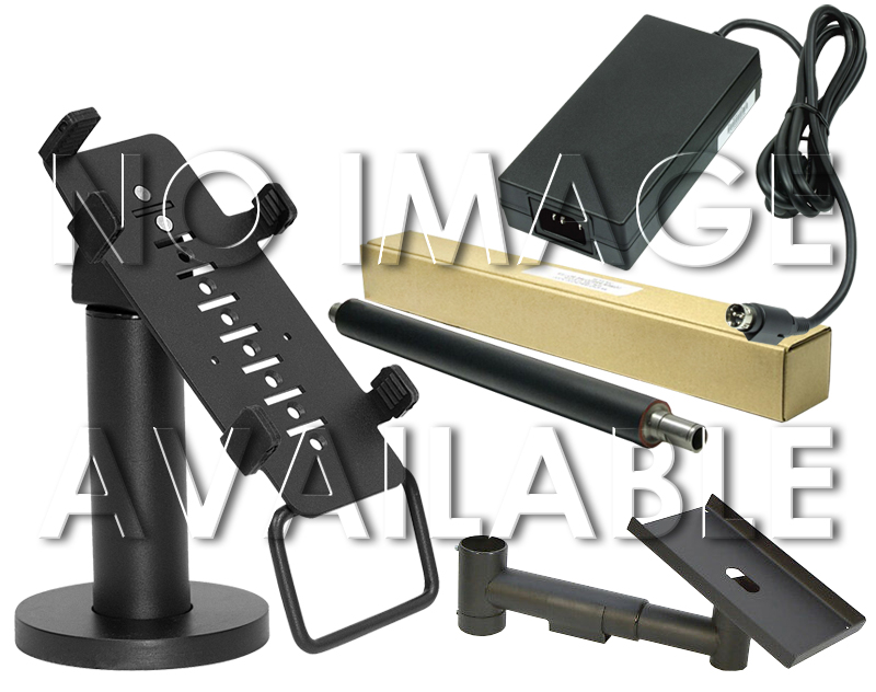 Space-Pole-TFT-Stand-and-Client-Display-Arm--Open-Box-Brand-New-HMF020-02-Black