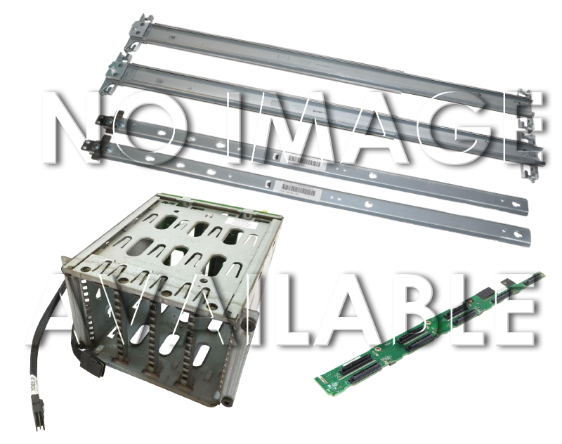 HP ProLiant ML150 G6 ML330 G6 ML110 G7 4 x LFF Drive Cage with Backplane and Cable А клас 466509-001 466510-001