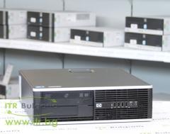 HP Compaq Elite 8000SFF А клас Intel Dual Core E5500 2800Mhz 2MB 4096MB DDR3 160 GB SATA 2.5 DVD RW Slim Desktop