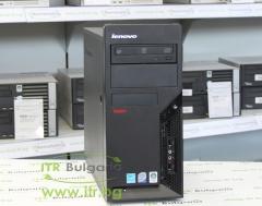 Lenovo ThinkCentre M58 А клас Intel Core 2 Quad Q8400 2660Mhz 4MB 4096MB DDR3 250 GB SATA DVD MiniTower