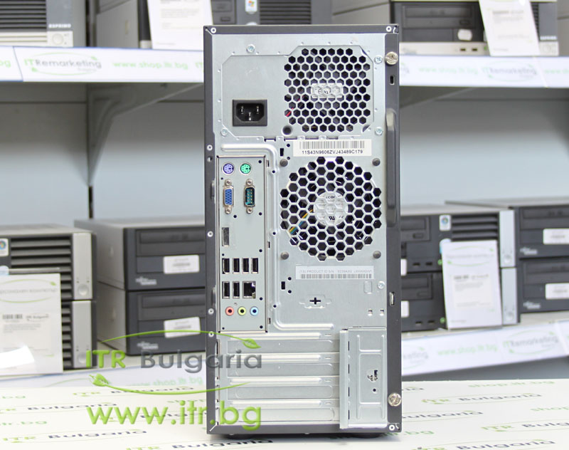 Lenovo ThinkCentre M58 А клас Intel Core 2 Quad Q8400 2660Mhz 4MB 4096MB DDR3 250 GB SATA DVD MiniTower