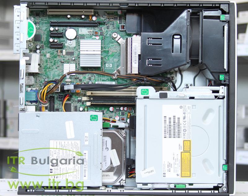 HP Compaq 6005 Pro SFF А клас AMD Athlon II X2 B22 2800Mhz 2MB 4096MB DDR3 160 GB SATA DVD-RW Slim Desktop  Card Reader