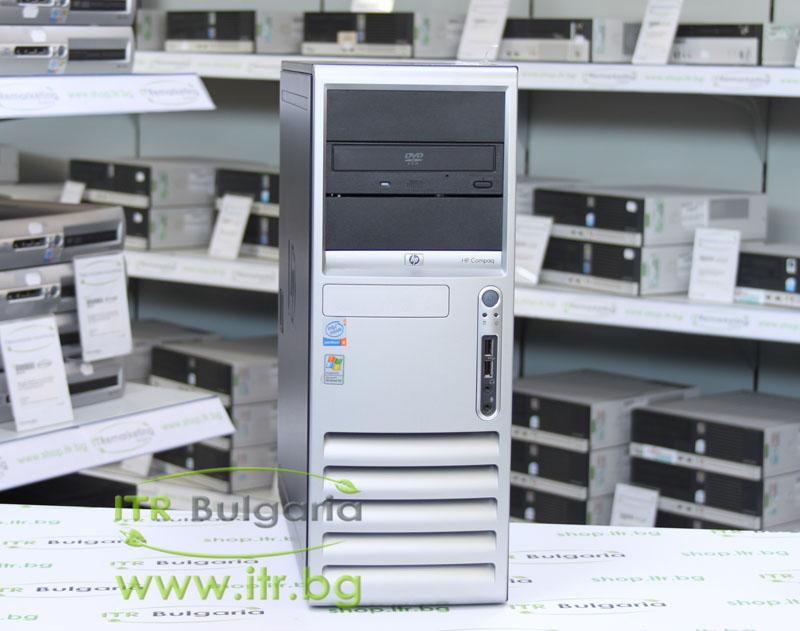 HP Compaq dc7600CMT А клас Intel Pentium D 820 2800Mhz 2MB 2048MB DDR2 80 GB SATA DVD-RW Tower